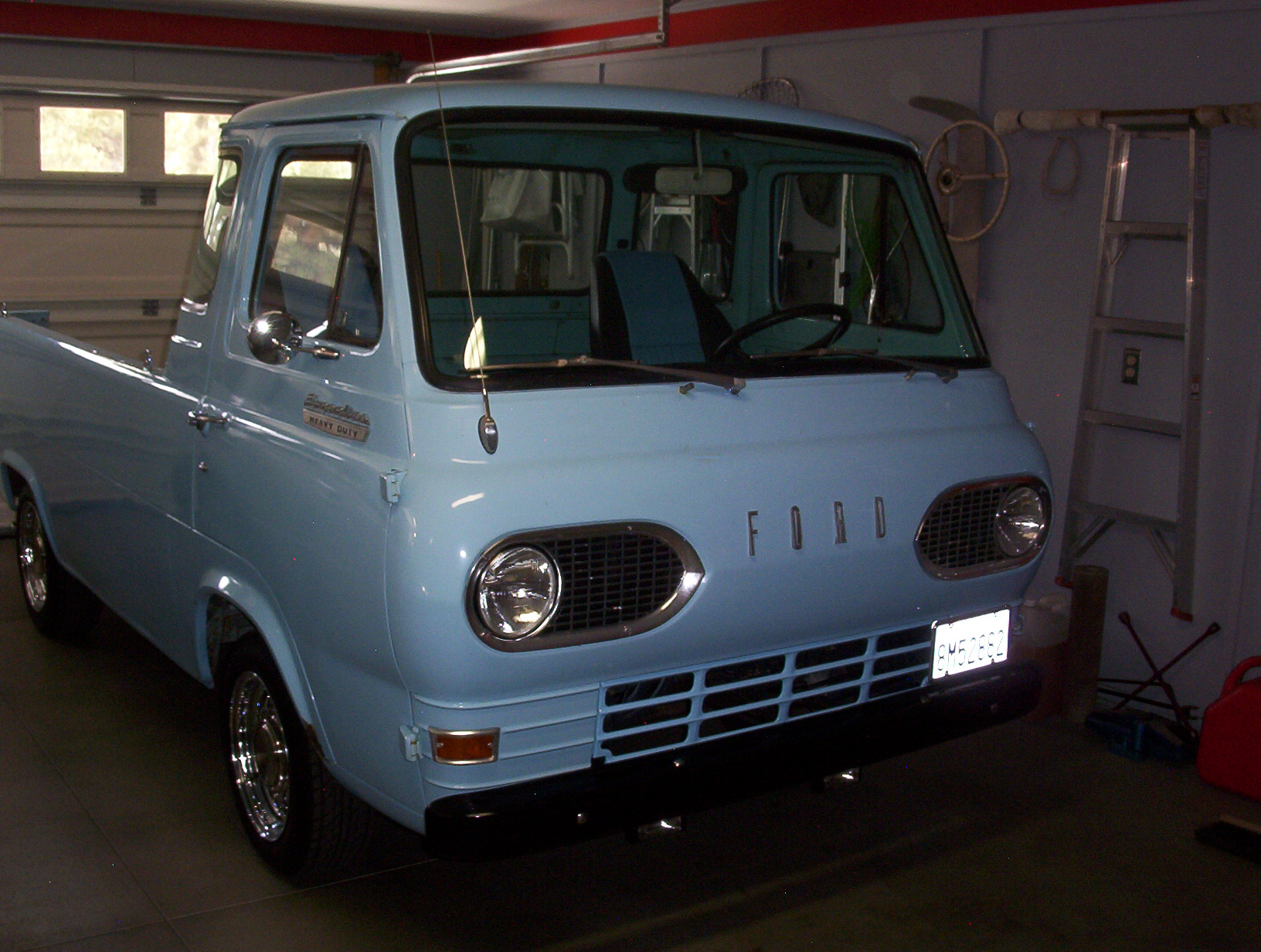 1967 FORD ECONOLINE PICKUP FOR SALE | Rodriders - Big Bear, CA